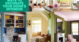 Sizin Home'un İç Dekorasyon 11 Kusursuz Yolları