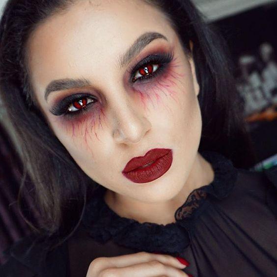 Makijaż na Halloween - 20 niezwykłych pomysłów