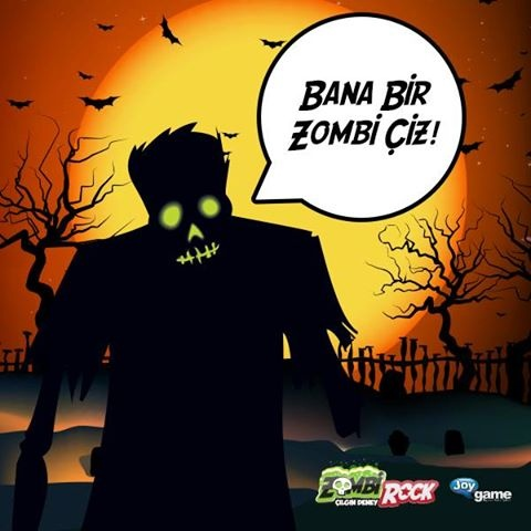 Bir Zombi Çizeceksin Hediyeleri Götürüleceksin! #Zombie #Zombi # ZombiRock #ZombiCiz