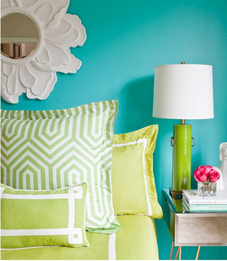 Good Looking Bedrooms In Turquoise Color Awesome: 1000+ Ideas About Turquoise Color Schemes On Pinterest