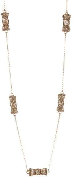 Kate Spade Moon River Glitter Scatter Necklace