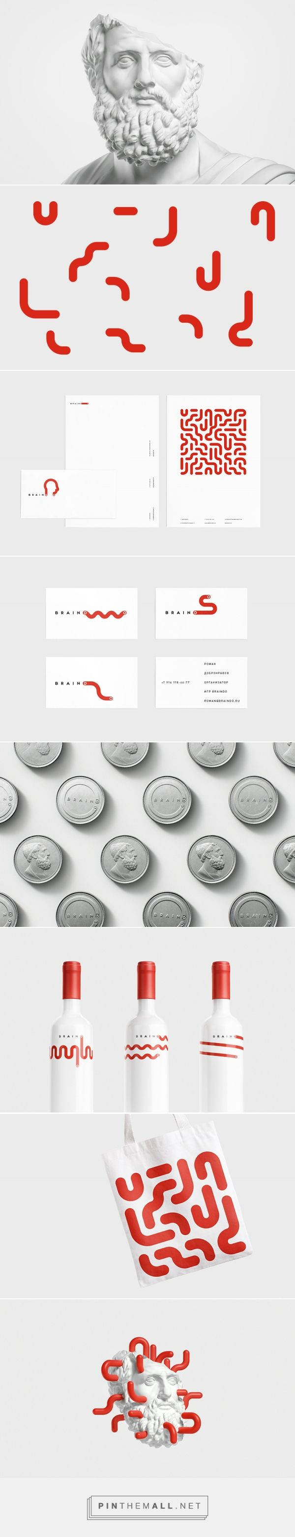 Braindo ho! Branding agency, Khabarovsk, RU curated by Packaging Diva PD. Braindo is intellectual fights which take place in several Russian cities every month. All the events are private; the participants are mid-level managers and businessmen. Branding, packaging, graphic design.