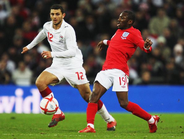 England 3 Egypt 1 in March 2010 at Wembley. Shaun Wright-Phillips scores for England #Friendly