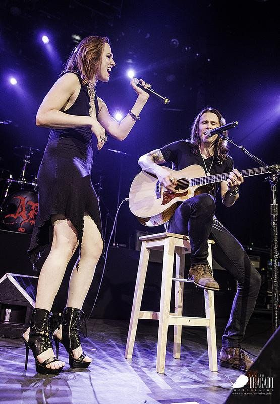 Lzzy Hale & Myles Kennedy Photo credit to owner