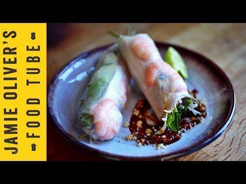 Vietnamese Summer Rolls | Uyen Luu - YouTube