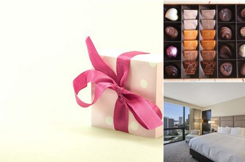Tis the Season Shopping Package includes Junior Suite accommodations, $50.00 Macy's Gift Certificate, Complimentary WiFi, Macy's Tote bag with various goodies such as a 10% savings pass, restaurant coupons, cosmetic samples and 8 piece Godiva Chocolates. Book our Downtown Los Angeles hotel today. #travel #losangeles #deals #dtla #hotel #DowntownLA #LAHotel #package