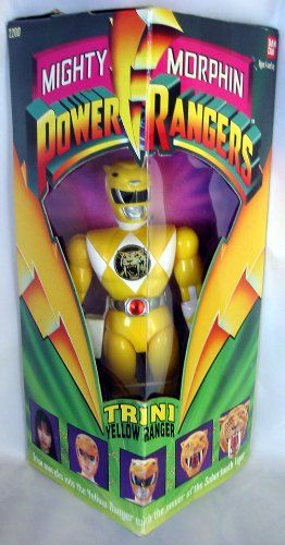Original Mighty Morphin Power Rangers TRINI YELLOW « Game Searches