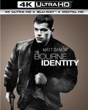The Bourne Identity [4K Ultra HD Blu-ray/Blu-ray] [UltraViolet] [Includes Digital Copy] [2002]