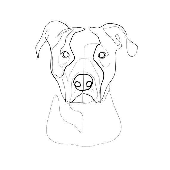 Custom Dog Portrait Custom Pet Portrait Personalized Art Print