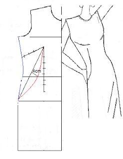 Otro modelo de corte princesa - El costurero de Stella