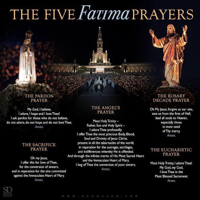 The Five Fatima Prayers