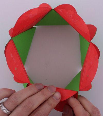Boule de Noël en papier, Déco Noël à fabriquer
