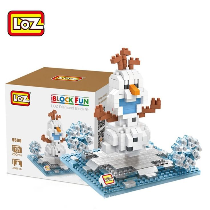 >> Click to Buy << LOZ Olaf Toy Building Bricks Building Blocks Action Figure Kids Diy Toys brinquedos educativo juguetes jouet menino #Affiliate