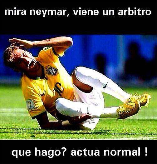 Neymar Meme Mundial Brasil 2014