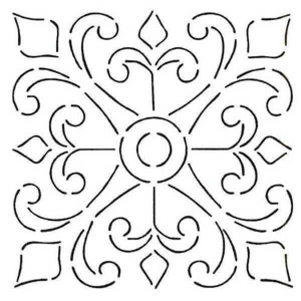 spanish stencil designs | spanish tile stencils - Google Search Wall Stencil for sunroom