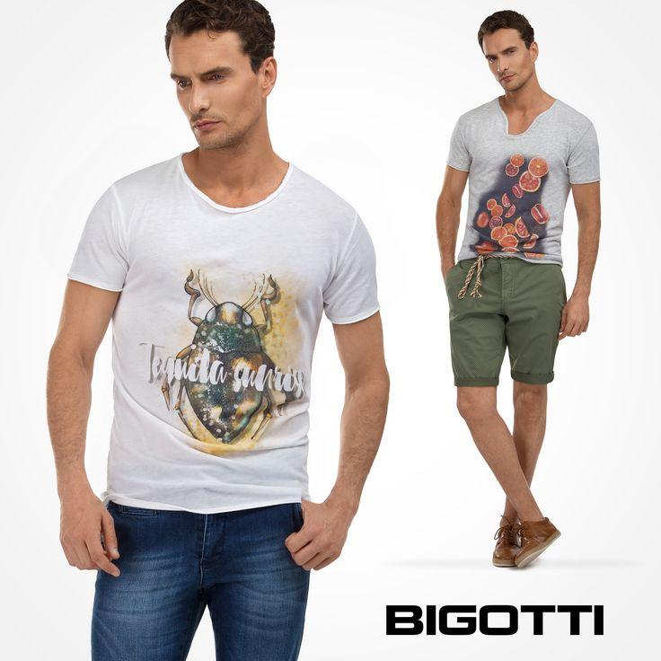 #Fine #cotton and #original #prints - #bring in the #summer #vibe with the #Bigotti #tshirts! 30% OFF #SUMMER #SALES www.bigotti.ro #Bigottiromania #moda #barbati #vara #sezon #tricouri #reduceri #promotie #mensfashion #menswear #mensclothing #mensstyle #summertime #wardrobe #casual #stylingtips #followus #summerfashion