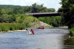 Spend the day on a canoeing adventure! Read all about it in the full blog post: http://summerfunguide.ca/blog/a-great-day-canoeing-the-grand/ #summerfunguide #thingstodoinontario