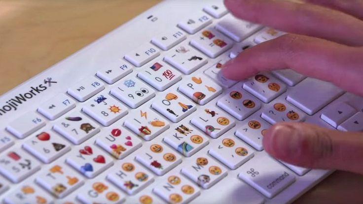 ¡Actualidad! ¿Sabes que el primer #teclado #emoji físico ya tiene precio? #emoticones #keyboard