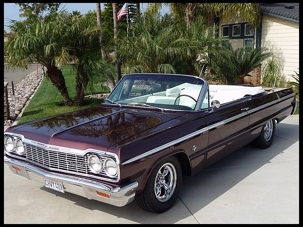 1964 impala ss convertible 409 425 autos weblog. Black Bedroom Furniture Sets. Home Design Ideas
