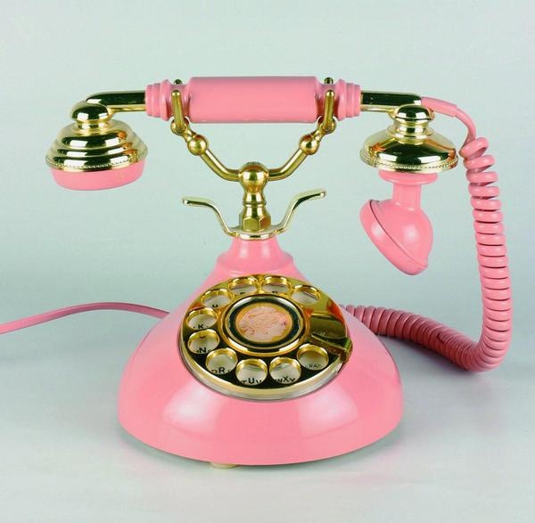 Fancy pink phone pink glitter for La oficina telefono