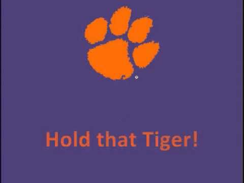 Clemson University Tigers - fight song with words - Tiger Rag
