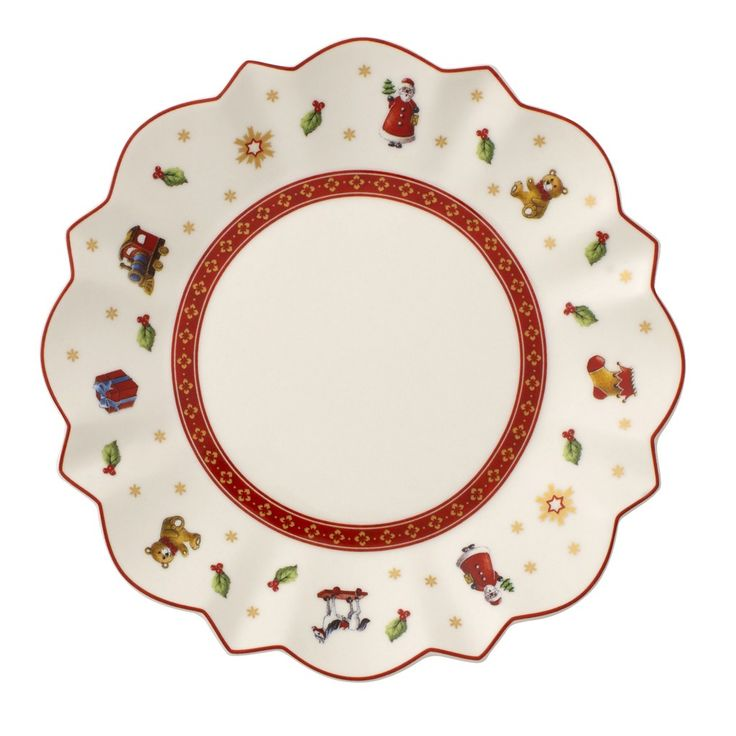 Toy's Delight Bread & Butter Plate : White 6 1/2 in - Villeroy & Boch