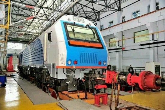 CRRC electric locomotive to run in Eurasia following safety certification