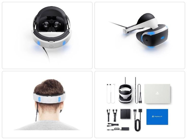 BRAND NEW Playstation 4 VR Headset Viewer Glasses Virtual Reality Sony Original #Sony