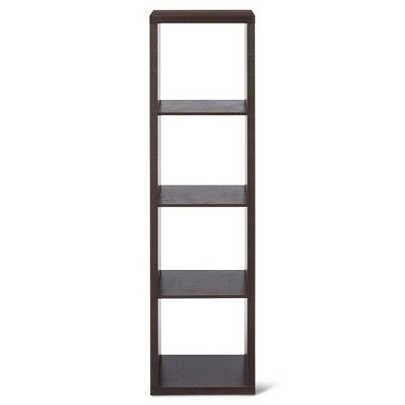 "4-Cube Vertical Organizer Shelf 13"" - Threshold™ : Target"