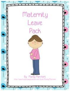 Congratulations on this exciting time in your life!  As someone about to take a maternity leave, I tried to include everything that would make the transition as smooth as possible.  Included are the following items: Maternity Leave Binder Cover Letter for Leaving Letter for Returning School Information Page Emergency Procedures Class Roster Highlighted Kids Parent Contact Information Classroom Management Individual Behavior Plans Seating Chart Daily Schedule Pages (5 blank copies) Pull-Out…