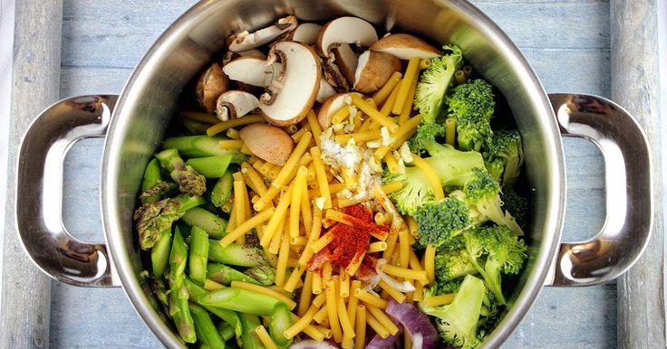 Alle Zutaten in einem Topf und fertig ist das One-Pot-Wonder!