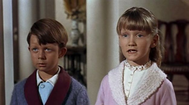 """This was the second of three Disney films that Matthew Garber (Michael Banks) and Karen Dotrice (Jane Banks) co-starred in. 