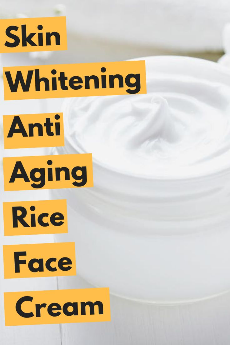 DIY anti aging rice face cream that will hide all aging signs from your face #diy #agingsigns #diybeauty #howtobeauty #ricefacecream #wrinklesonface