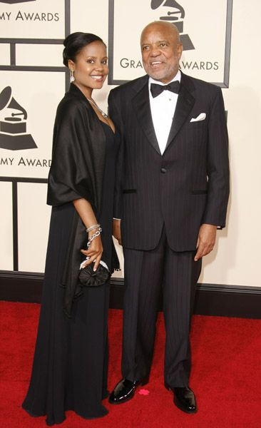 Berry Gordy & his granddaughter, Autumn, Jermaine's daughter.