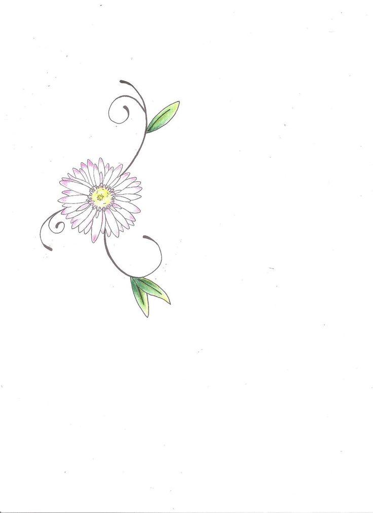 Daisy tattoo by Ink-Koi.deviantart.com on @deviantART