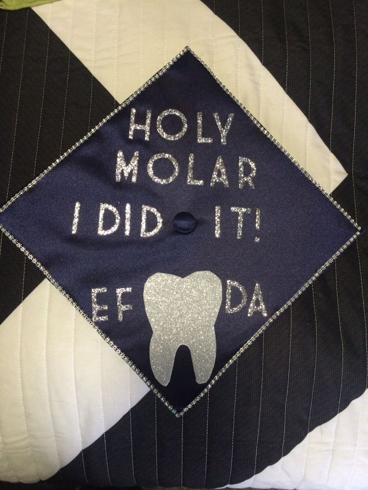 My Graduation Cap EFDA expanded functions dental