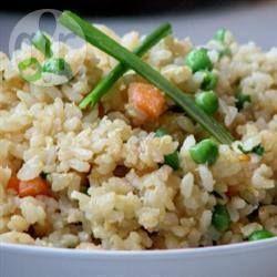 Gebakken rijst met groenten en ei @ allrecipes.nl