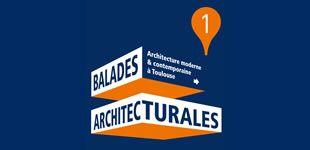 Téléchargez gratuitement les Balades architecturales : architecture moderne et contemporaine à Toulouse © Office de tourisme et Toulouse Métropole #visiteztoulouse