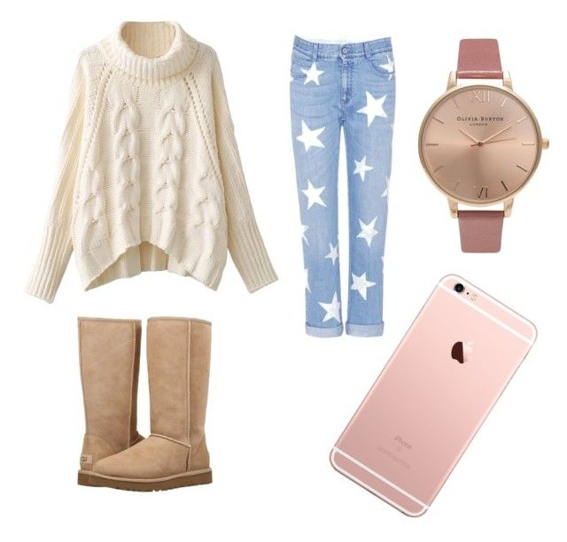"""Cozy outfit."" by saez-javita on Polyvore featuring moda, STELLA McCARTNEY, UGG y Olivia Burton"