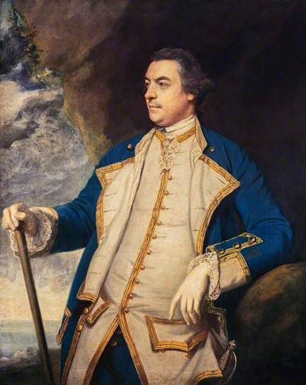 Captain Adam Duncan (1731–1804), Later Admiral Duncan and 1st Viscount of Camperdown, 1750