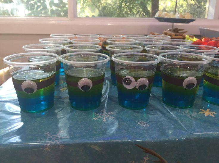 Minions jelly (jello) cups