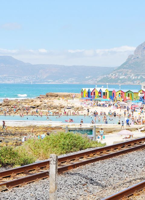 Cape Town- from epic mountains to turquoise oceans, wild penguins to brightly painted buildings. (St James)