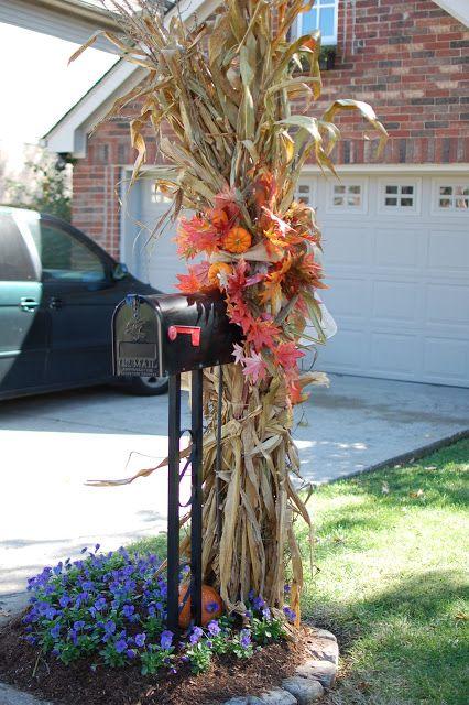 1000 Ideas About Fall Mailbox Decor On Pinterest