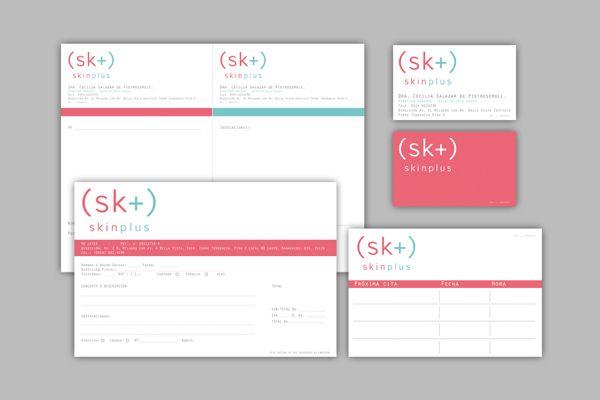 SKIN PLUS by Omm Agency , via Behance