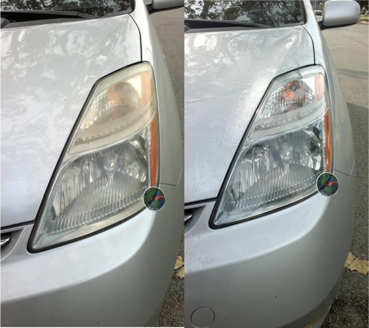 headlight restoration before and after los angeles