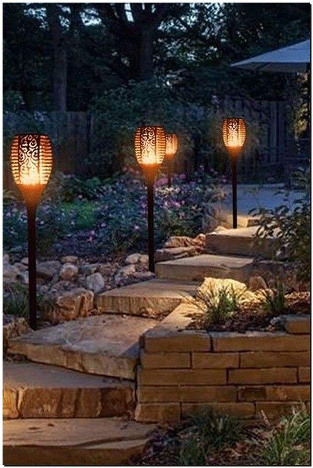 35 Beautiful Garden Backyard Lighting Ideas 27 Solar Lights Garden Outdoor Solar Outdoor Solar Lights