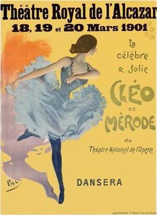 Blog of an Art Admirer: Cleo de Merode La Belle Epoque's Beauty