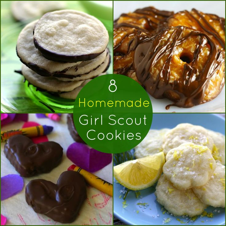... Truth About Samoas vs. Caramel deLites | Homemade, Girls and Cookies