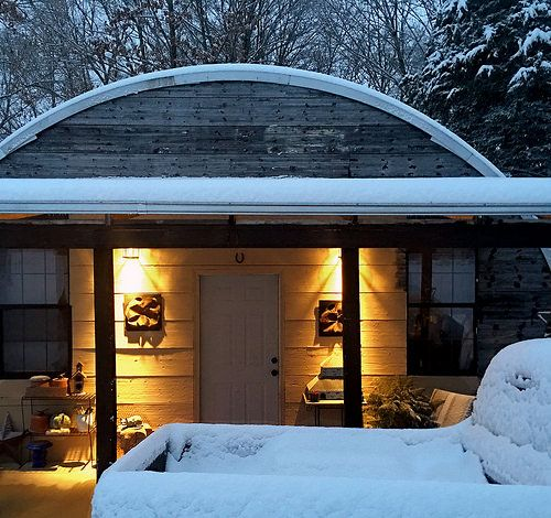 143 Best Images About Quonset Hut Homes On Pinterest