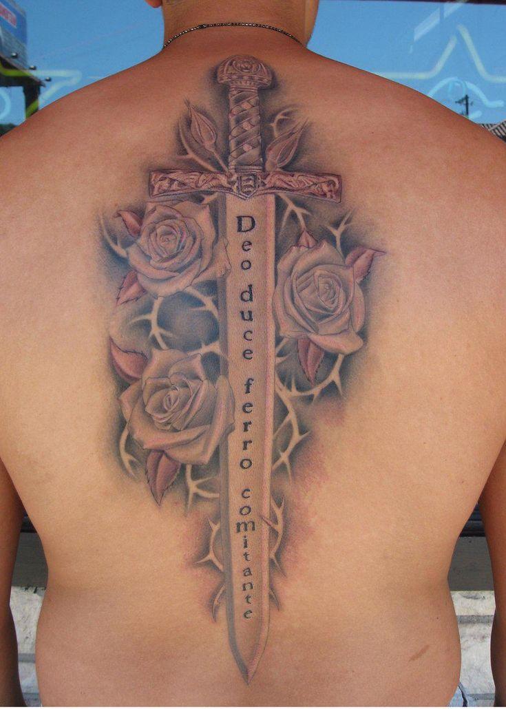 36 best irish sword tattoos images on pinterest tattoo for Crossed swords tattoo
